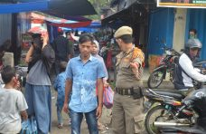 Puluhan Orang Terjaring Operasi Yustisi di Pasar Balai Salasa