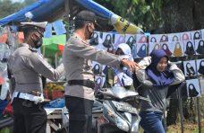 37 Orang Terjaring Operasi Yustisi di Pasar Padang Baru, 13 Diantaranya Bayar Denda
