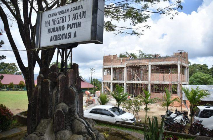 Bangun Asrama, Kantor Kemenag Agam Persiapkan MAN 3 Jadi Boarding School