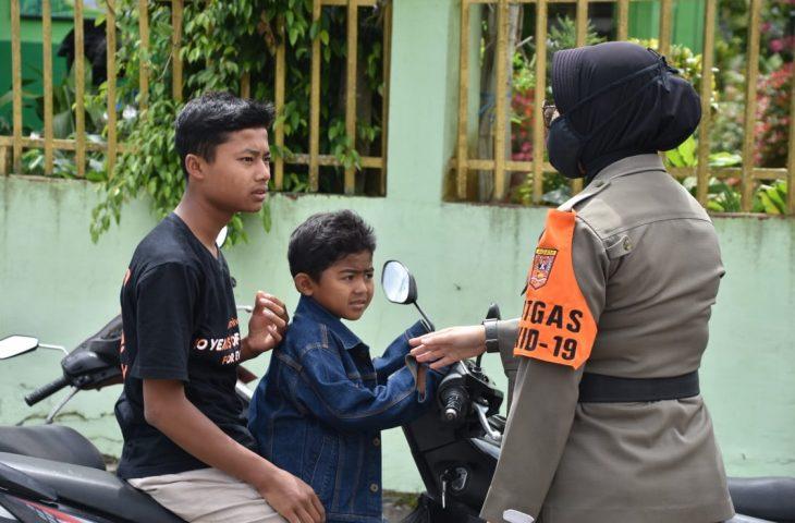 Tak Pakai Masker, 51 Orang Diberi Sanksi Sosial dan Denda di Banuhampu