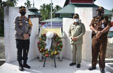 Hari Pahlawan ke-75, Pjs Bupati Agam dan Forkopimda Ziarah ke TMP