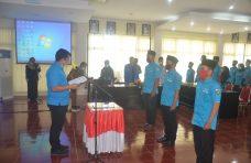 Pjs Bupati Agam Hadiri Pelantikan DPD KNPI Kabupaten Agam Periode 2020-2023