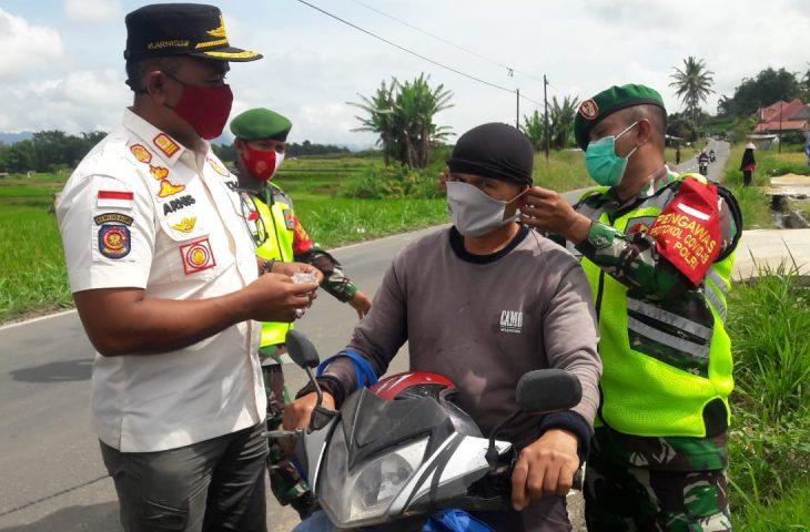 Tim Gabungan Gelar Operasi Yustisi di Lasi- 38 Orang Pelanggar Terjaring