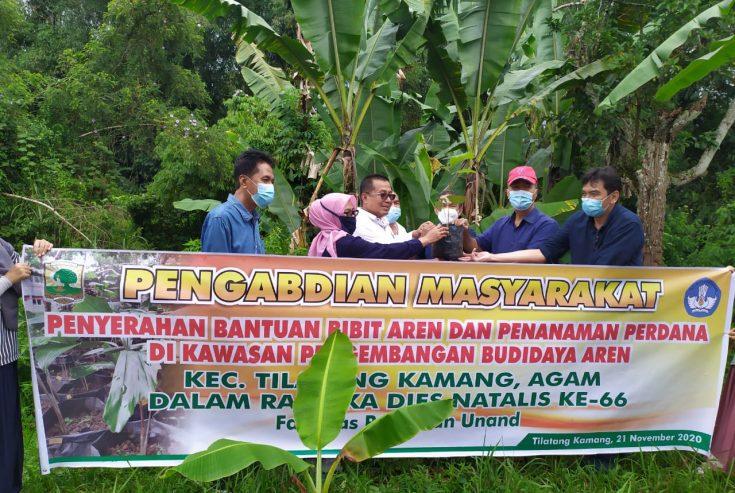 Faperta Unand Gelar PM di Nagari Gaduik, Siap Jadikan Sentral Budidaya Aren di Sumbar