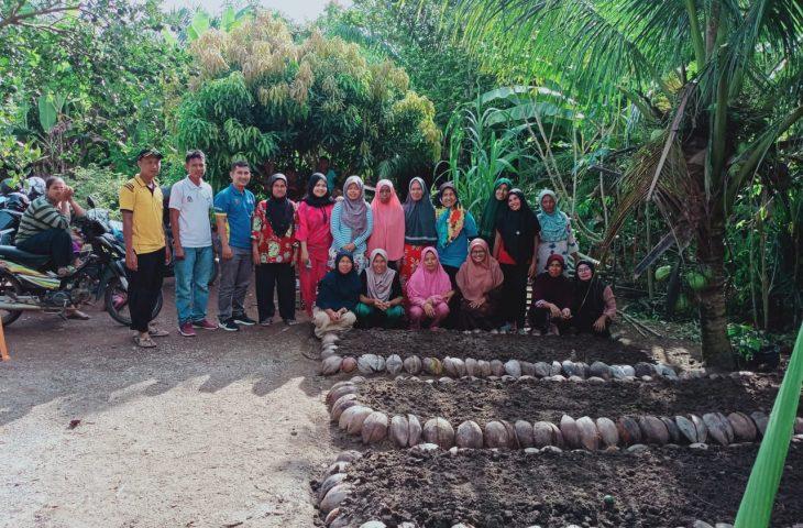 Wali Nagari Kampung Tangah Ajak Kelompok Dasawisma Manfaatkan Lahan Kosong