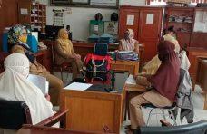 Kadis PMPTSP-Naker Agam Monitoring ke Kantor Pelayanan Bersama Belakang Balok