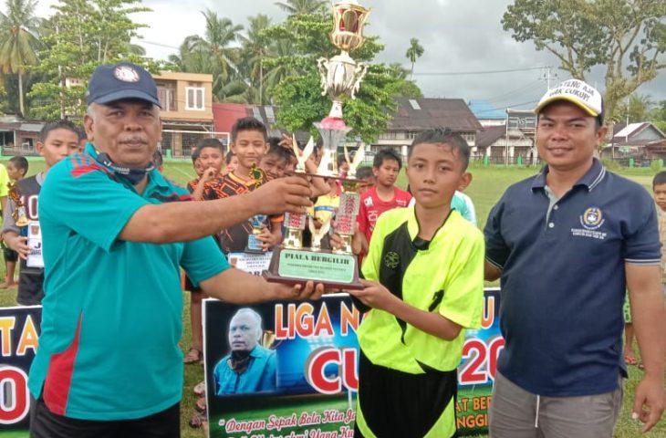 SSB Pasa Tiku Juara Liga Nagari Tiku Selatan U-12