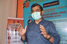 83,3 Persen Pasien Covid-19 di Kabupaten Agam Dinyatakan Sembuh