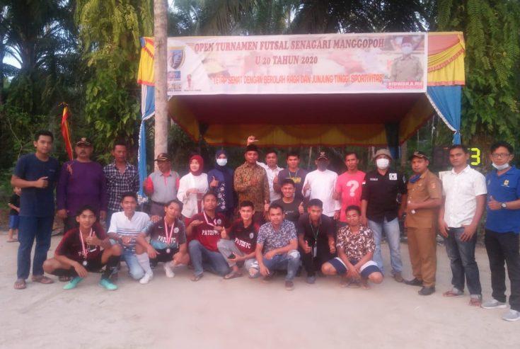 Balai Satu Juara Open Turnamen Futsal Nagari Manggopoh