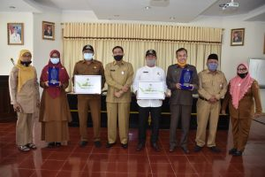 Terbaik Nasional, Dua Perpustakaan Nagari di Agam Terima Penghargaan Perpusnas