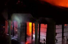 Subuh Membara, Satu Unit Rumah Permanen di Kubang Putiah Hangus Terbakar