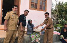 Pemkab Agam Salurkan Bantuan Kepada Korban Kebakaran di Kubang Putiah