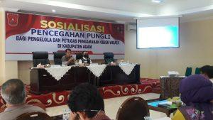 Cegah Pungli, UPP Agam Gelar Sosialisasi Bagi Pengelola dan Petugas Keamanan Objek Wisata