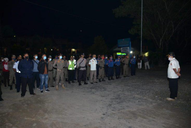 Bupati Agam Pimpin Apel Pelepasan Tim Pengamanan Malam Tahun Baru