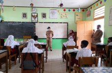 Camat IV Koto Monitor Penerapan Prokes di Sekolah