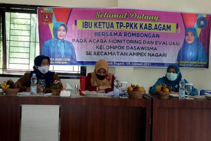 Tiga Nagari di Ampek Nagari Telah Membentuk 100 Persen Kelompok Dasawisma
