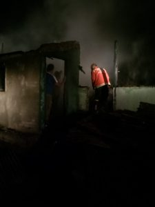 Kebakaran Kembali Terjadi, Dua Unit Rumah di Simpang Para Hangus