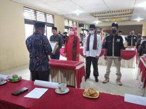 Walnag Cantola Lantik Pengurus 5 Lembaga Nagari Secara Serentak