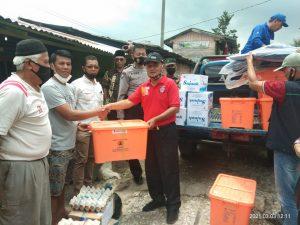 Pemkab Agam Salurkan Bantuan Tanggap Darurat Bagi Korban Angin Puting Beliung Jambu Aia