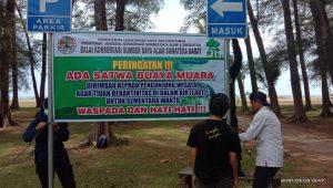 BKSDA Resort Agam Pantau Lokasi Kemunculan Buaya di Tiku