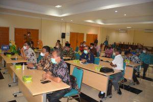 Pemkab Deli Serdang Belajar Pilwana E-Voting ke Agam