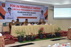 Pemkab. Agam Gelar Forum OPD, Welfizar : Kegiatan Prioritas Sesuai Kebutuhan Lapangan