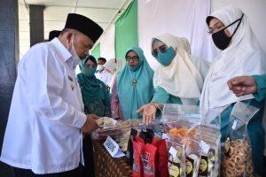 Produk UP2K Kecamatan Dipamerkan di BBD dan BBGRM Agam 2021