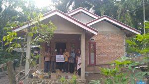 Dapat Program Baznas Agam, Warga Padang Koto Gadang Miliki Rumah Baru