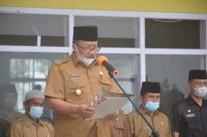Bupati Agam Menjadi Pembina Upacara Bendera di MTI Kapau