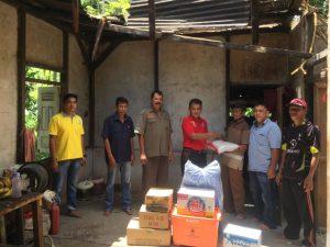 Dinsos Agam Salurkan Bantuan Darurat Bagi Korban Pohon Tumbang di Palembayan