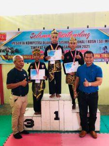 Atlet Ampek Nagari dan Lubukbasung Raih Juara I Pencak Silat di KOSN SD