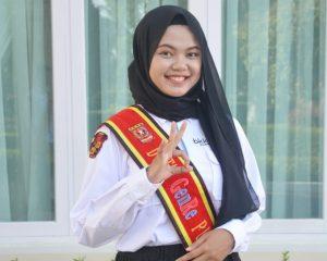 Adilla Kampanyekan English for Better Future di Pemilihan Duta GenRe Sumbar