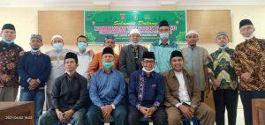 Camat Baso Sambut Kunjungan Pemerintah Kecamatan Tapung