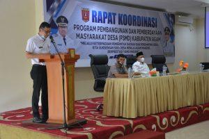 DPMN Agam Gelar Rakor Program Pembangunan Pemberdayaan Masyarakat Desa