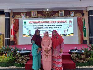 Ketua Dekranasda Agam Hadiri Musda Provinsi 2021 di Padang