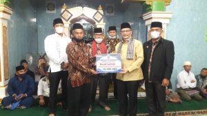 Wabup Agam Safari Ramadan ke Masjid Syuhada Matua Mudiak