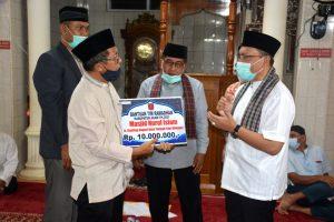 TSR Kabupaten Kunjungi Masjid Nurul Islam Gantiang
