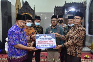 TKSR Bupati Agam Berakhir di Masjid Nurul Yaqin Canduang Koto Laweh