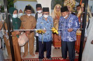 Gubernur Sumbar Resmikan Pemakaian Masjid Nurul Hidayah Balai Badak
