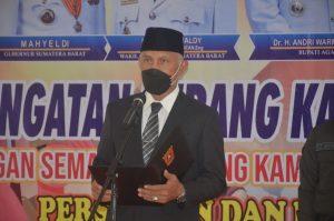 Gubernur Sumbar Jadi Inspektur Upacara Peringatan Perang Kamang Ke-113