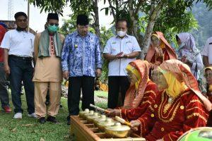 Mengadu ke Bupati Agam, Grup Talempong Aguang Koto Kaciak Dapat Angin Segar
