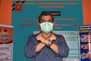 Pasien Sembuh Covid-19 di Kabupaten Agam Bertambah 12 Orang