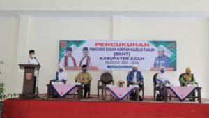 Ny. Yenni Andri Warman Jabat Ketua BKMT Agam