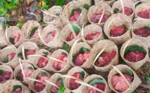 Pasia Laweh Salurkan Daging Kurban 60 'Katidiang' ke Anak Yatim Piatu