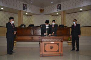 DPRD Setujui Ranperda RPJMD Kabupaten Agam Jadi Perda