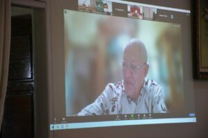 Bupati Agam Ikuti Lanjutan Virtual Coaching Kepala Daerah Bersama Kemendagri