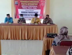 Forkopimca Tanjung Mutiara Tandatangani Pakta Integritas