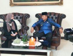 Bupati AWR Ikuti Podcast Forum Anak Kabupaten Agam
