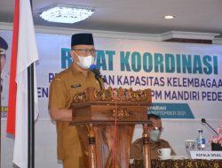 Wabup Agam Buka Rakor Eks PNPM Mandiri Bagi BKAN dan UPK Kecamatan