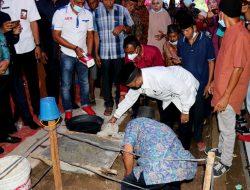 Bupati Agam Letakkan Batu Pertama Masjid Raya Nurul Islam Durian Tinggalang